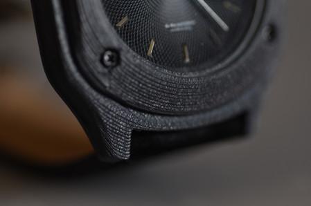Dettaglio orologio con stampante 3D