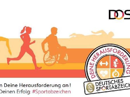 Einladung zur Übergabe der Sportabzeichen 2018