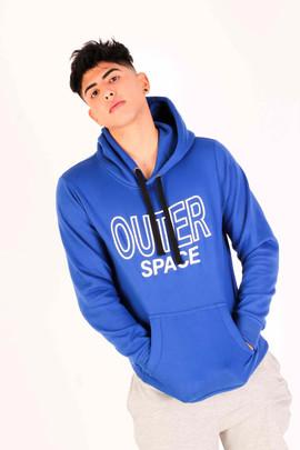 Jumper azul fleece