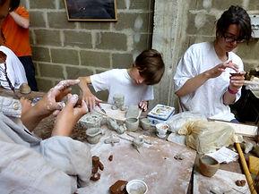Atelier poterie ESAT-ATIS La Flèche rencontres Encore heureux... 2016