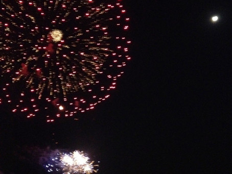 Life is Like a Firework - Get Out There and Shine