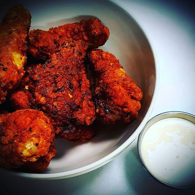 Devil Wings with Homemade Alabama White