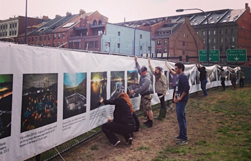The Fence at Photoville, Brooklyn, USA 2014