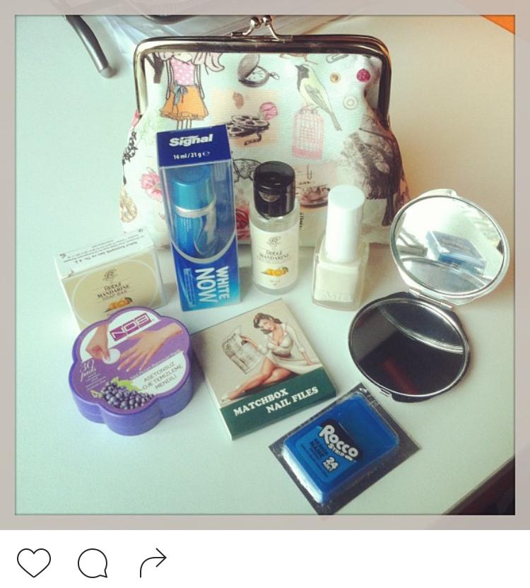 Merve'nin o tatlı hediyesi... Hemen Instagram'da paylaşmıştım !