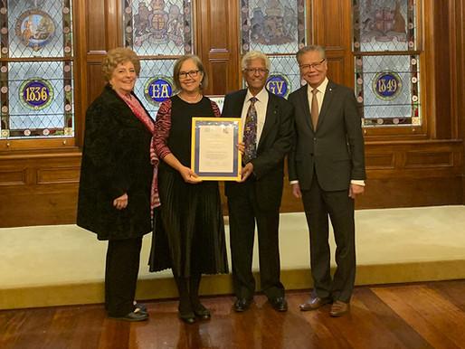 Balarinji co-founders honoured with UNESCO Achievement Award