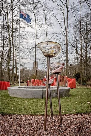 DVA Memorial Garden Art Curation