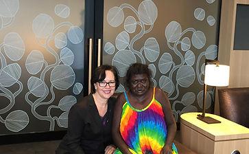 Darwin Internaitonal Airport Aboriginal artwork interiors