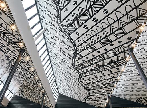 Burwood Brickworks mural wins Good Design Award