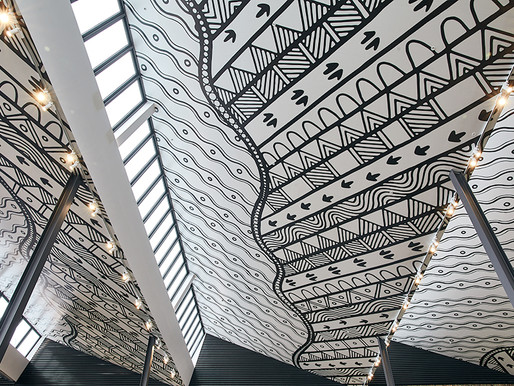Burwood Brickworks mural wins Good Design Award