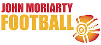 John Moriarty Football white background.