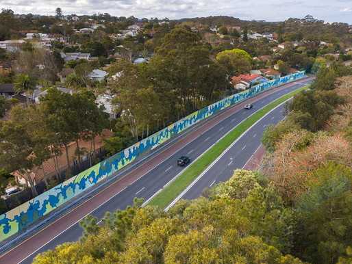 Transport for NSW officially launches North Balgowlah mural