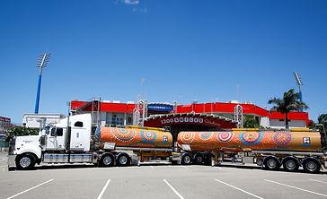 Fulton Hogal Aboriginal Art Tanker