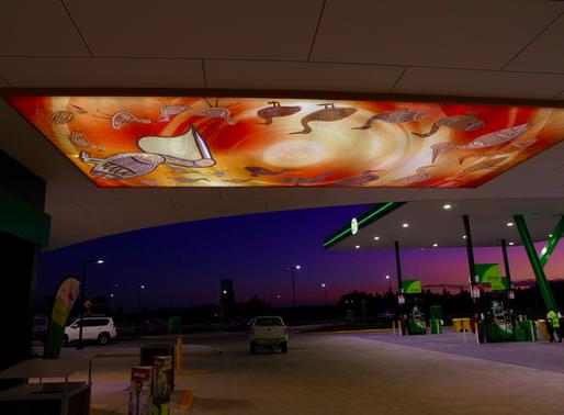 Transport for NSW installs stunning artwork at Ballina Travel Centre