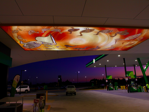 Transport for NSW installs stunning artwork at Ballina Travel Centre
