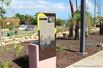 Jezzine Barracks redevelopment interpretive signage