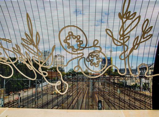 Cleveland Street Bridge artwork wins silver in Sydney Design Awards