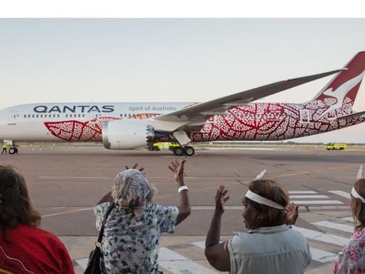 Emily Kame Kngwarreye Dreamliner wins Gold in Sydney Design Awards