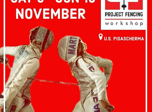 Il Pisascherma sede del primo Workshop del Project Fencing