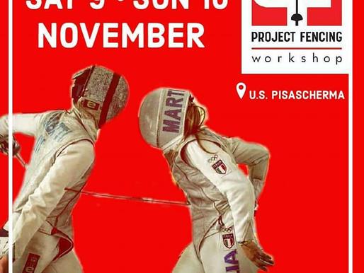 Il Pisascherma sede del primo Workshop del Project Fencing