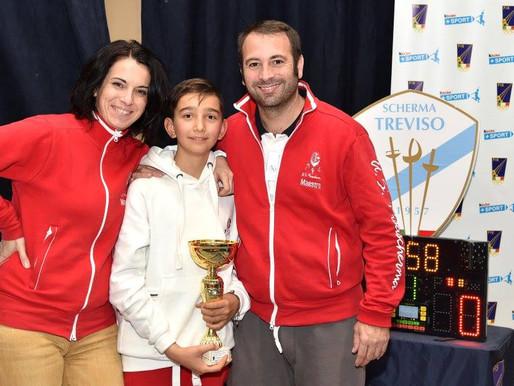 A Treviso buoni risultati per i piccoli pisani U14