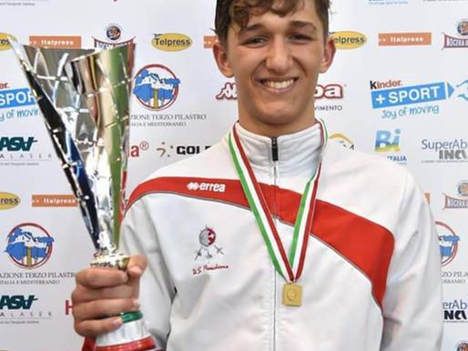 FRANCESCO VALORI VENTURAvince la Coppa Italia Cadetti di Fioretto