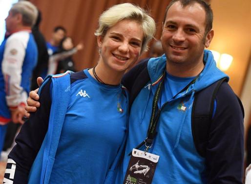 Il Maestro Simone Vanni ai Mondiali Paralimpici come CT