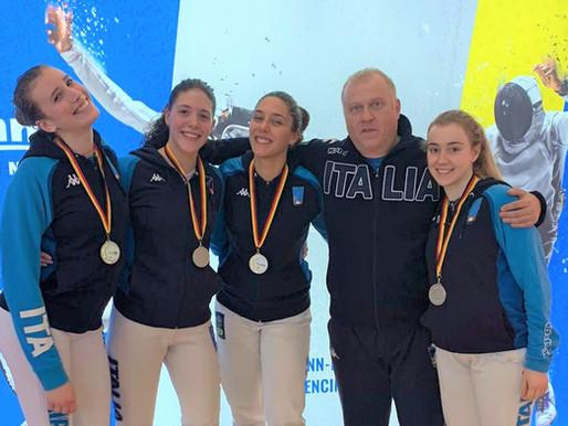 Letizia Campani vince in Coppa del Mondo in Germania con l'Italia a squadre di spada