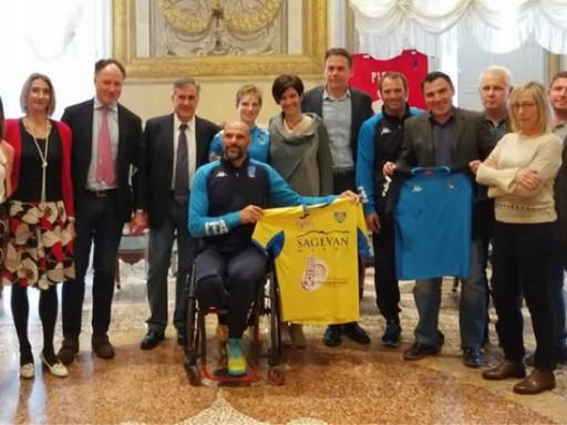 Al via la prova di Coppa del Mondo Paralimpica targata Pisascherma