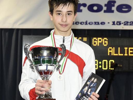 Gran Premio Giovanissimi tre podi per il Pisascherma: IACOMONI Argento,CONTICINI e MANFREDINI Bronzo