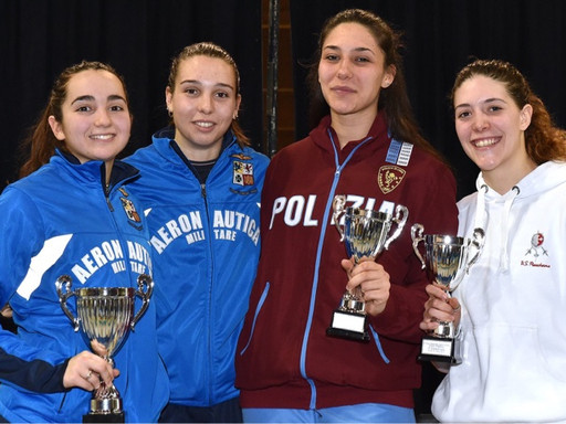 CAMPANI Bronzo alla 2ª Nazionale Giovani di SPADA