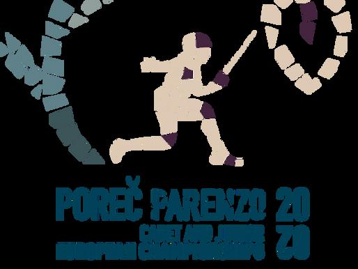 Matteo Iacomoni riserva ai Campionati Europei Cadetti di fioretto, Porec 2020