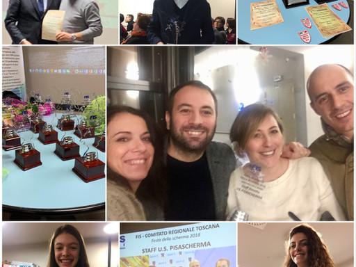 Festa della Scherma Toscana, Oscar come Maestro dell'anno a tutto lo staff di fioretto