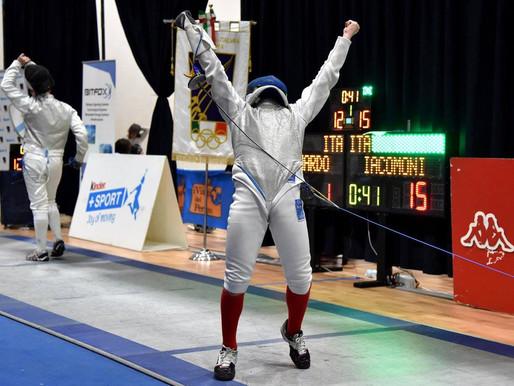 Iacomoni domina la I Prova Nazionale GPG di fioretto e Conticini debutta in bronzo!