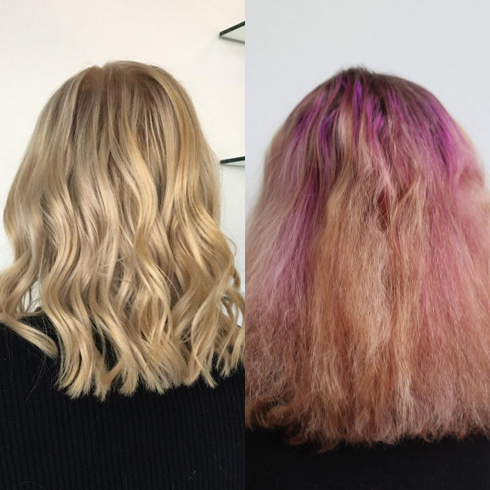 7 Hour color correction