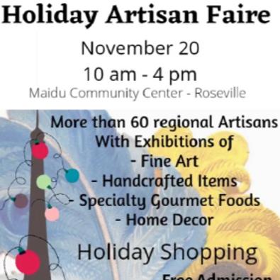 Holiday Artisan Faire