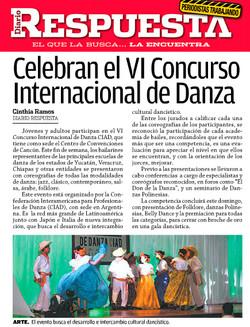 Celebran VI Concurso