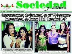 Representantes de Chetumal en CIAD