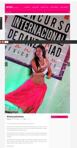 Ritmos polinesios Cancún CIAD