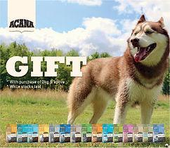 Acana Wobbler Dog (gift) FREE DOG TREATS