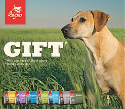 Orijen Wobbler Dog (gift) FREE DOG TREAT