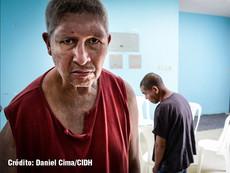 Daniel Cima para CIDH, 2017  Visita de la CIDH al Hospital Nacional de Salud Mental Federico Mora. Visita in loco a Guatemala.  Exhibición permanente. Colección CIDH.