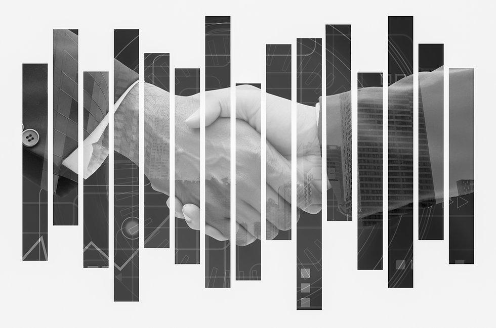 Handshake of business man,teamwork, achi