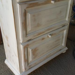 Comodă lemn antichizată