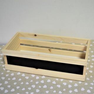 Cutie lemn cu tablă zabrele