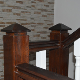 Baluştri şi mână curentă lemn