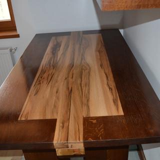 Masă lemn masiv cer