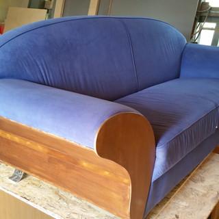 Canapea după recondiţionare