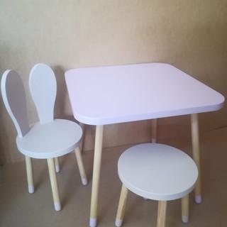 Set măsuţă pătratăcu două scaune