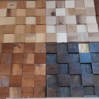 Panouri 3D din lemn