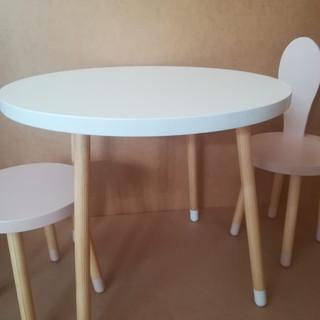 Set măsuţă rotundă cu două scaune